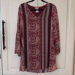 Boho Paisley Summer Dress